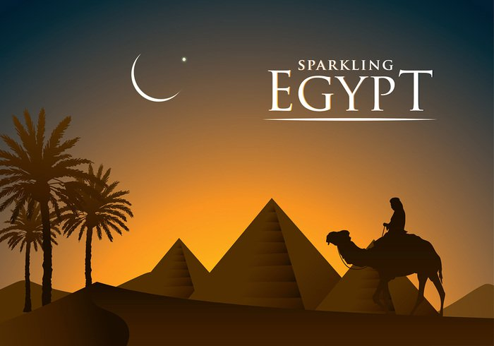 piramide-egypt-free-vector